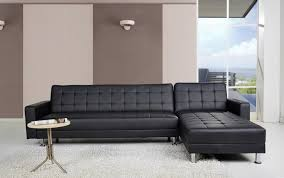 Large Black Leather Corner Sofa Small Leather Corner Sofa Beds Centerfieldbar Com