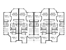 multi family house plans perfect 16 plan w59501nd multi family