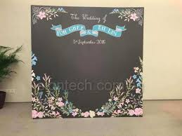 wedding backdrop board custom backdrop for your important day with photos messages