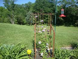 grow damnit the upcycled recycled trellis thing