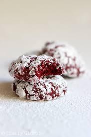 red velvet crinkles cookies simply gloria