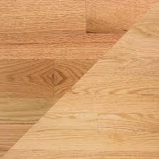 oak light finish colors