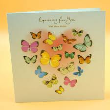 12 pieces lot beautiful butterfly postcard greeting card christmas