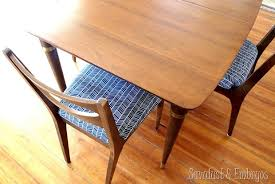 50 s kitchen table and chairs restoring a mid century modern dining set reality daydream