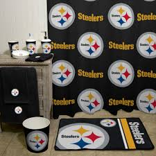 nfl pittsburgh steelers decorative bath collection shower