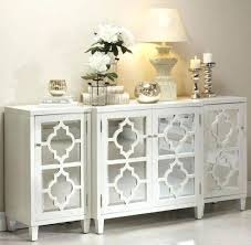 buffet table white floating shelves in the dining room buffet
