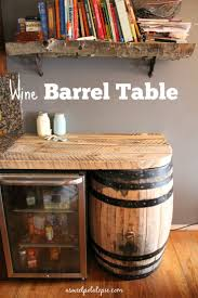 best 25 whiskey barrel table ideas on pinterest wine barrel