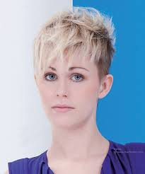 punky haircut with short sides and longer top hair