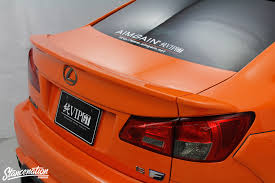 lexus is spoiler closer look at vip gt is f by aimgain stancenation form