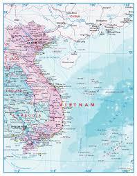 Map Of Laos Map Of Vietnam