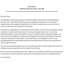 hotel manager cover letter 28 images an in depth guide to