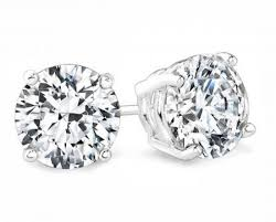 earrings studs 3 5 carat diamond studs earrings si f beverlydiamonds