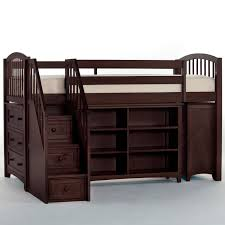 Jr Loft Bunk Beds Ne Schoolhouse Storage Junior Loft Bed With Stairs