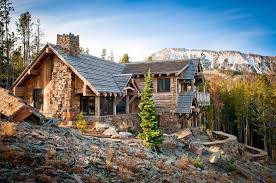 mountainside house plans rustic luxe house plans adhome