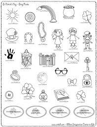 saint patrick u0027s day free math worksheets u0026 printables coloring