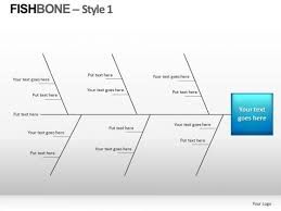 analyze fishbone diagram powerpoint slides powerpoint templates