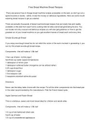 How To Use The Bread Machine Free Bread Machine Recipes