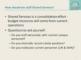 shared services at nc state what we u0027ve learned so far u2026 ppt