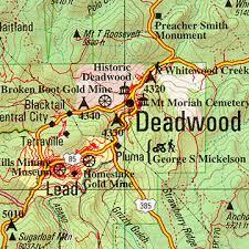 south dakota road map south dakota delorme atlas road maps topography and more