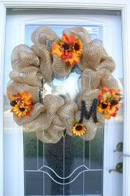how to make a mesh wreath 12 easy diy deco mesh wreaths for fall shelterness