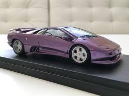 Lamborghini Murcielago Purple - miniwerks forum cloud 9 collection many images