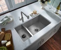 Deep Kitchen Sinks Kitchen Double Kitchen Sink Intended For Striking Black Double