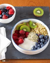 Fruit Bowl Fruit And Quinoa Breakfast Power Bowl Recipe Redux U2022 The Fit Cookie
