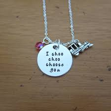 s day necklace s day necklace i choo choo choose you s
