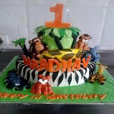 jungle theme cake buy jungle theme cake 3d07 online in bangalore order jungle