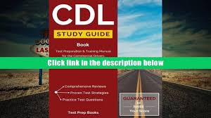 free download cdl study guide book test preparation training
