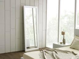 white framed long wall mirror u2022 bathroom mirrors and wall mirrors