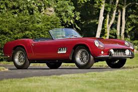 Ferrari California Gt 250 - most expensive car sold at auction pictures 1962 ferrari 250