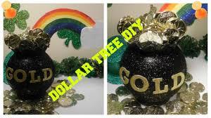 diy leprechauns pot of gold dollar tree craft kids crafts