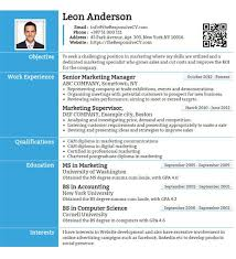 Resume Cv Builder Free Mobile Resume Builder 10 Android Developer Resume Templates