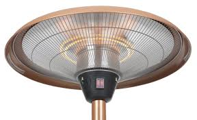 patio table top heater target tabletop patio heater home outdoor decoration