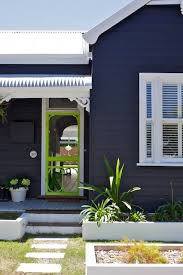 dark blue weatherboard house google search new house