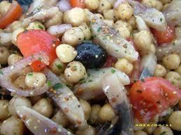 cuisiner le hareng frais recette de salade de pois chiche et harengs façon choupette