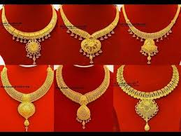 jewelry necklace designs images Necklace designs in gold 2017 jewellery jpg