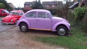 volkswagen beetle purple tatty car travels volkswagen beetle introduction youtube