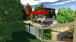 3d pool and landscaping design software features vip3d 3d wall and fence design software
