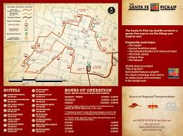 Map Of Downtown Las Vegas by Santa Fe Pickup Shuttle City Of Santa Fe New Mexico