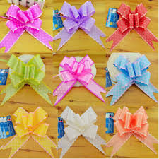 pull bow ribbon 50 pcs large big size 78 5cm pull bow ribbon flower gift packing