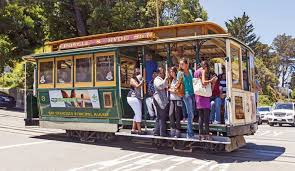 San Francisco Tram Map by San Francisco U0027s World Famous Cable Cars Bay City Guide San