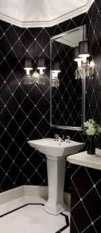 black white and silver bathroom ideas best 25 glam powder room ideas on small