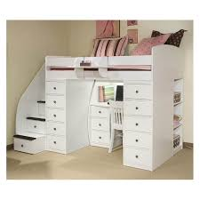 Bunk Bed With Desk And Stairs Bunk Beds With Stairs And Desk Latitudebrowser