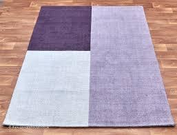 Lilac Rug Blox Heather Rug A 100 Wool Hand Woven Purple Lilac U0026 Grey Rug