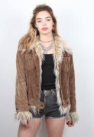 halloween scrubs vintage brown corduroy afghan jacket vintage clothing online