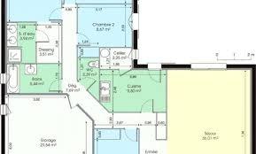 plan plain pied 3 chambres plan gratuit dune maison de 3 chambres finest a plain pied 2 4