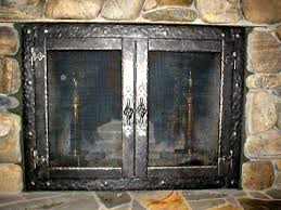 best wrought iron fireplace screens u2014 home ideas collection to