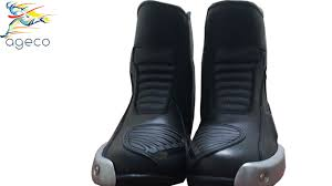 black motorbike boots black motorbike shoes motorcycle boots leather racing boots shoes